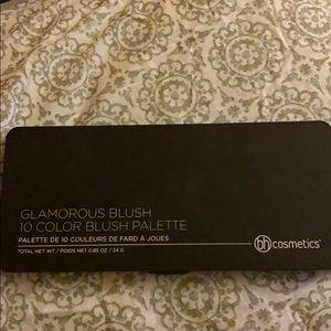 Bh Cosmetics 10 color Glamorous Blush palette